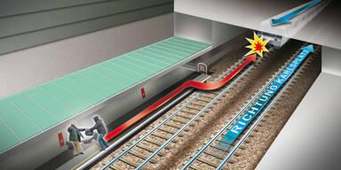 Räuber wird von U-Bahn überrollt