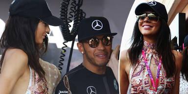 Kendall Jenner, Lewis Hamilton