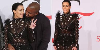 Kim Kardashian: 1. Auftritt nach Baby-News
