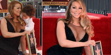 Mariah Carey: Mit Kids am Walk of Fame