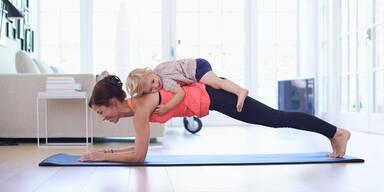 Fitness nach der Schwangerschaft