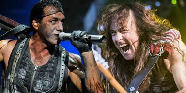 Rammstein, Iron Maiden