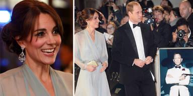 Royals bei der Bond-Premiere