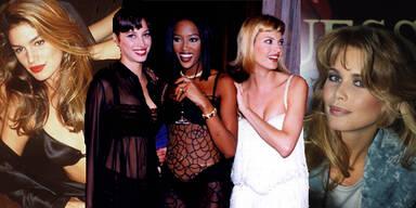 Die Supermodels der 90er-Jahre