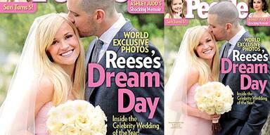 Reese Witherspoon & Jim Toth: Ihr Hochzeitsfoto