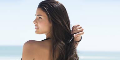 Nährende Kokosöl-Maske für glänzendes Haar