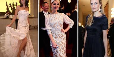 Die Roben der Opernball-Stars