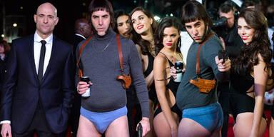 """Grimsby""-Premiere: Sacha Baron Cohen in Unterhosen"