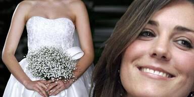 Kate Middleton: Das Geheimnis um ihr Hochzeitskleid