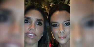 Eva Longoria und Victoria Beckham: Face-Swap