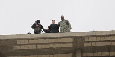 ISIS wirft Homosexuellen vom Dach