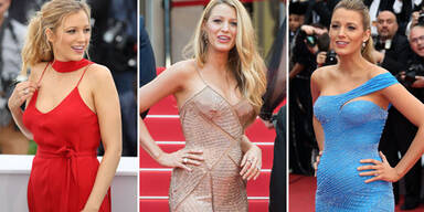 Blake Lively: Babybauch in Cannes