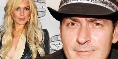 Charlie Sheen wirbt um Lindsay Lohan