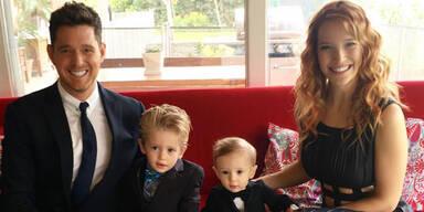 Michael Buble mit seiner Familie
