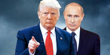 Putin droht USA mit Vergeltung