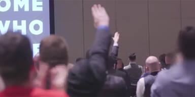 """Heil Trump!"": So huldigen Neo-Nazis Trump"