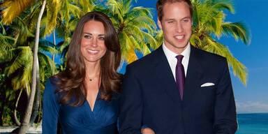 Prinz William und Kate: Flitterwochen