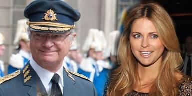 König Carl Gustaf von Schweden, Prinzessin Madeleine