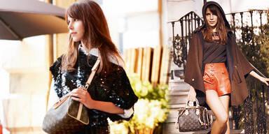 Wienerin wirbt für Louis Vuitton