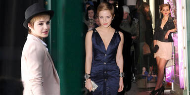 Neue Stil-Königin: Emma Watson