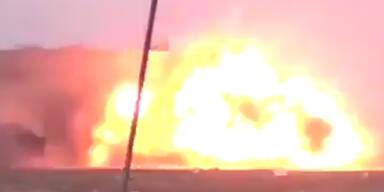 Dumm gelaufen: ISIS-Scherge sprengte NUR sich selbst in die Luft