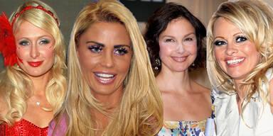 Make-Up Katastrofen der Stars