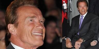 Arnold Schwarzenegger: Sein erster Auftritt als Single