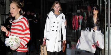 Stars tragen H&M, Zara und Co.