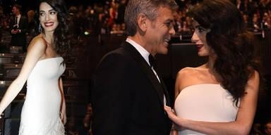Amal Clooney zeigt ihren Babybauch