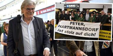 Peter Simonischek: Rückkehr von den Oscars