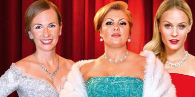 Top-Ladys aus Society und Kultur
