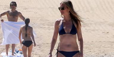 Gwyneth Paltrow: Sexy im Liebesurlaub