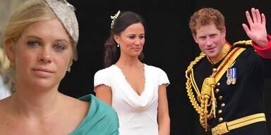 Chelsy Davy, Pippa Middleton, Prinz Harry
