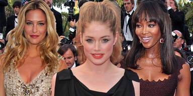 Topmodel-Aufgebot in Cannes