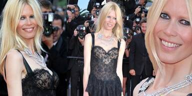 Claudia Schiffer in Cannes