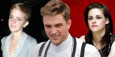 Emma Watson, Robert Pattinson, Kristen Stewart