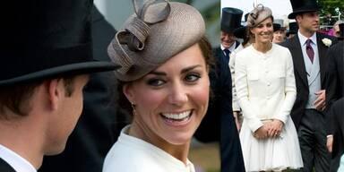 Prinz William und Kate beim Epson Derby