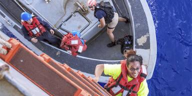 Irrfahrt im Pazifik: Zwei Frauen nach 5 Monaten gerettet