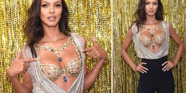 Lais Ribeiro: Sie trägt heuer den 2-Mio.-Dollar-Fantasy-Bra