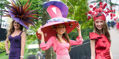 Die schrägsten Hüte vom Ladies Day in Ascot