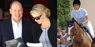 Fürst Albert & Charlene feuern Charlotte an