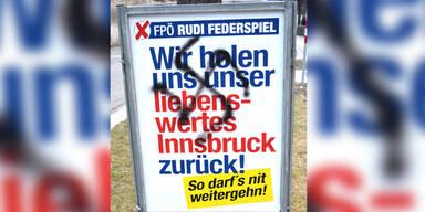 """FPÖ: """"Kopfgeld"""" gegen Plakat-Rowdys"""
