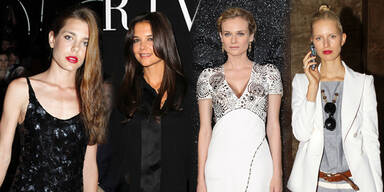 Star-Auflauf bei Haute Couture-Shows in Paris
