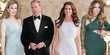 Royals bei der Bafta-Gala