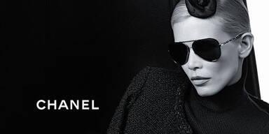 Claudia und Karl für Chanel-Kollektion