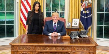 Trump Kim Kardashian