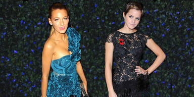 Style Duell: Blkae Lively vs. Emma Watson