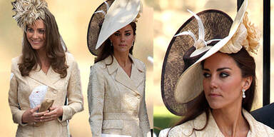 Prinzessin Kates royales Recyceln