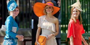 Zaras royale Gäste im Stylecheck