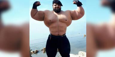 """""""Iranischer Hulk"""" will MMA-Kämpfer werden"""
